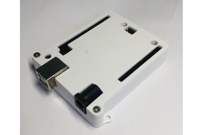 Case for Arduino Uno R3 - White ABS Enclosure