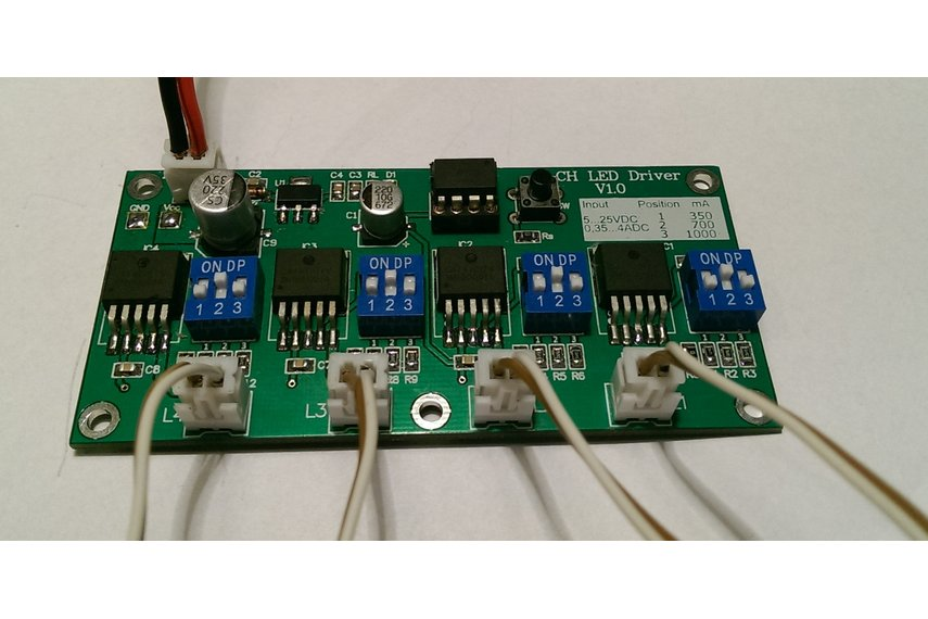 PCB ONLY! 4 CH ATtiny 45/85 LED Driver