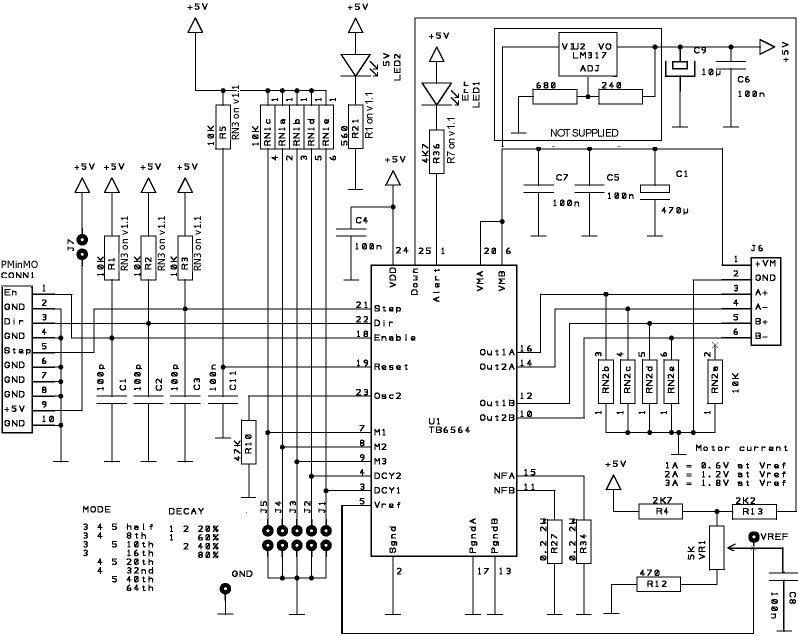 build huge 3d printers 200watt stepper driver kit from massmind on tindie