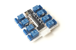 Wi-Fi Relay Board. 8 Relays/10 Inputs. Android app