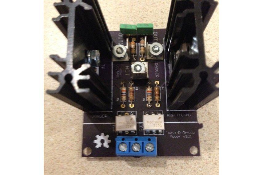 Toast-R-Reflow Power board kit