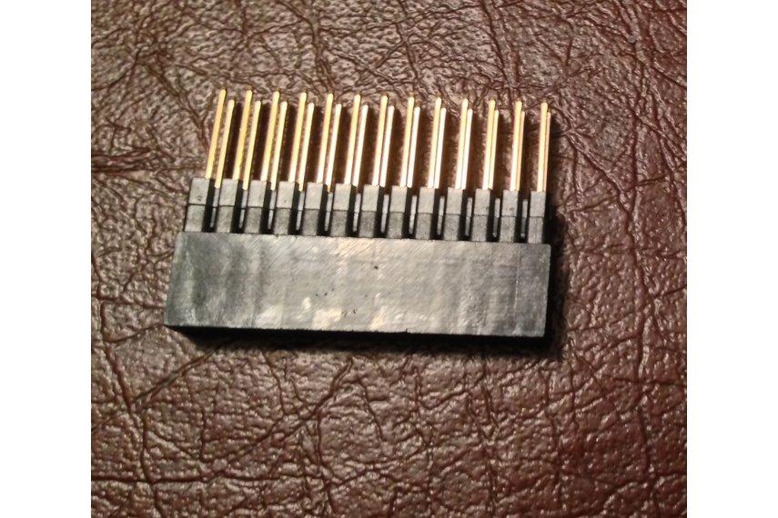 26 pin stacking header