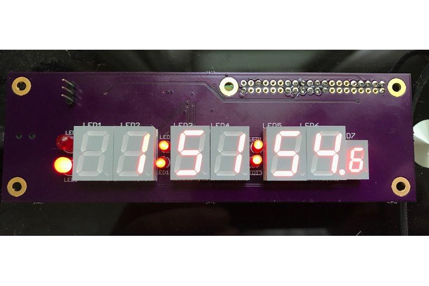 Raspberry Pi Zero Clock