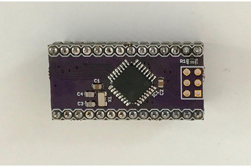 ATXMega32E5 breakout board