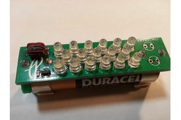Multi-LED Joule Thief.