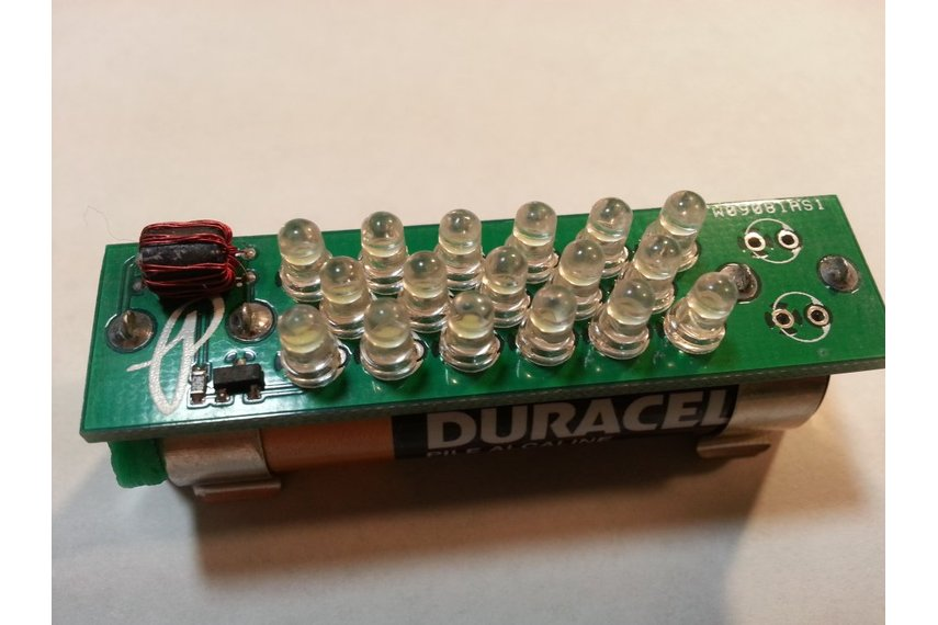Multi-LED Joule Thief - Cosmetic Damage