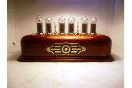 Vintage Nixie Clock on IN-14 tubes