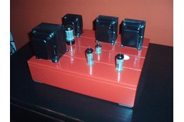 Tube amp pure A-Class  with EL84 triode wired