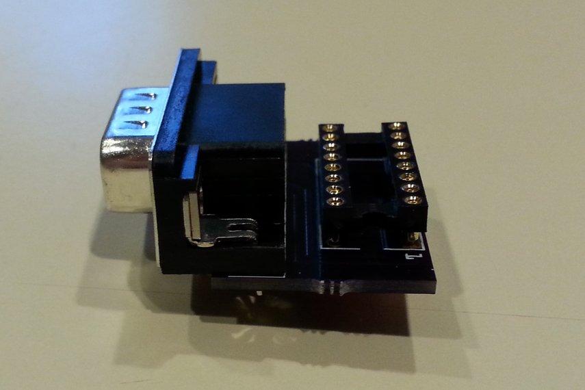 Joystick adapter for Apple IIc