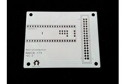 RetroConnector keyboard shield for Apple IIe - kit