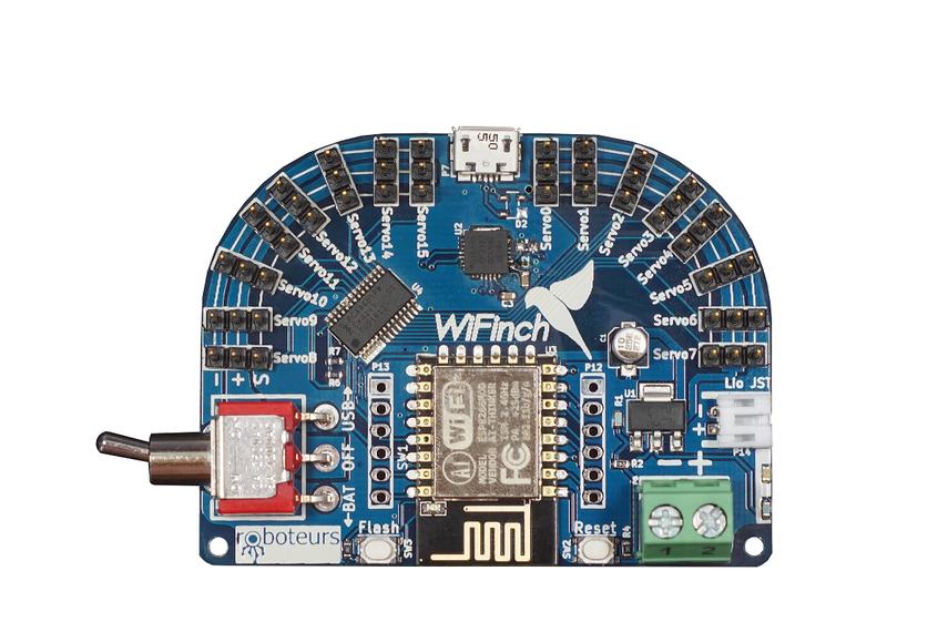 WiFinch: WiFi Servo Controller