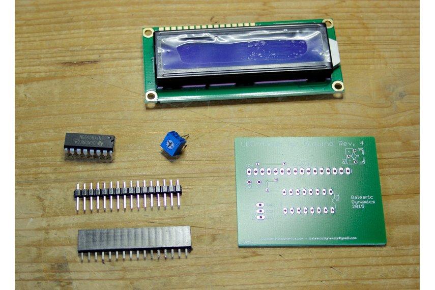 LCD Alpha Arduino Kit