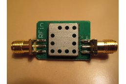 315 MHz Bandpass Filter Band Pass; 4 MHz Bandwidth