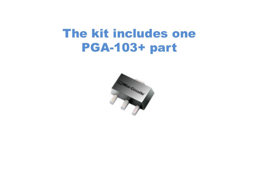 PGA 103+ Ultra Low Noise  Amplifier PCB Kit + LNA