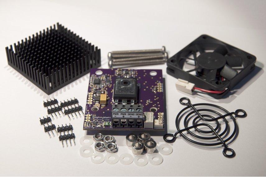 MightyWatt Kit: 70W Electronic Load for Arduino