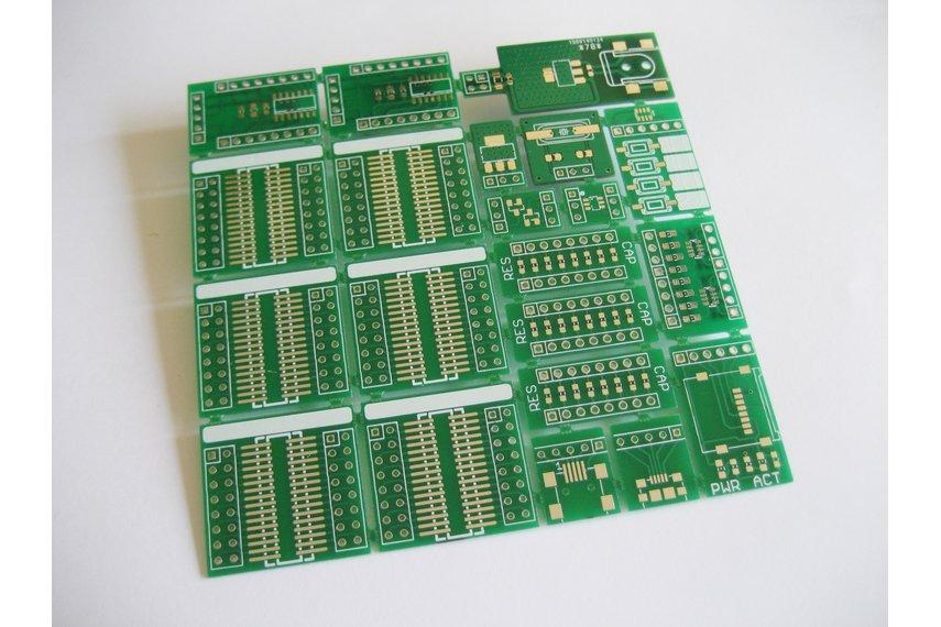 Breakable SMD prototype board