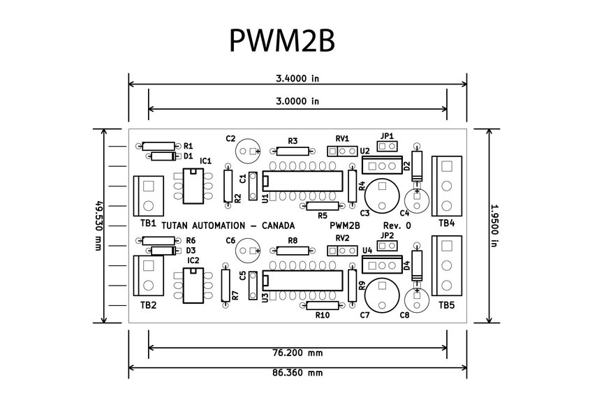 2 channel isolated pwm to analog converter