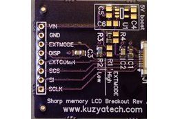 Scratch and Dent- Sharp Memory LCD breakout A2