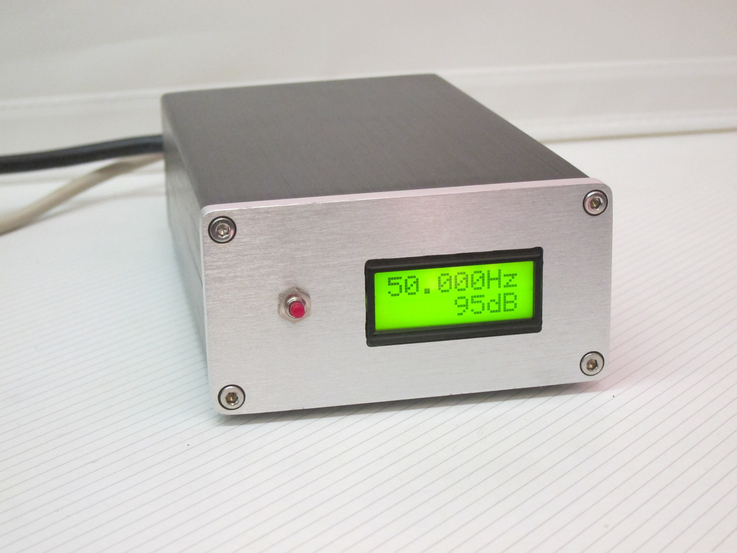 Sound Frequency Meter : Mains ac frequency meter from detlefs on tindie