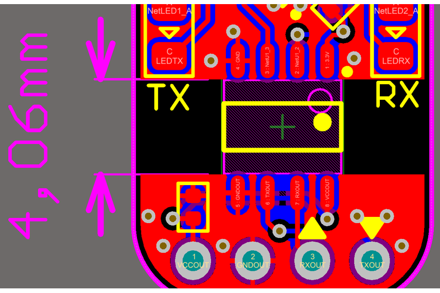 Debug Board USB to RS232 Isolated Serial Converter