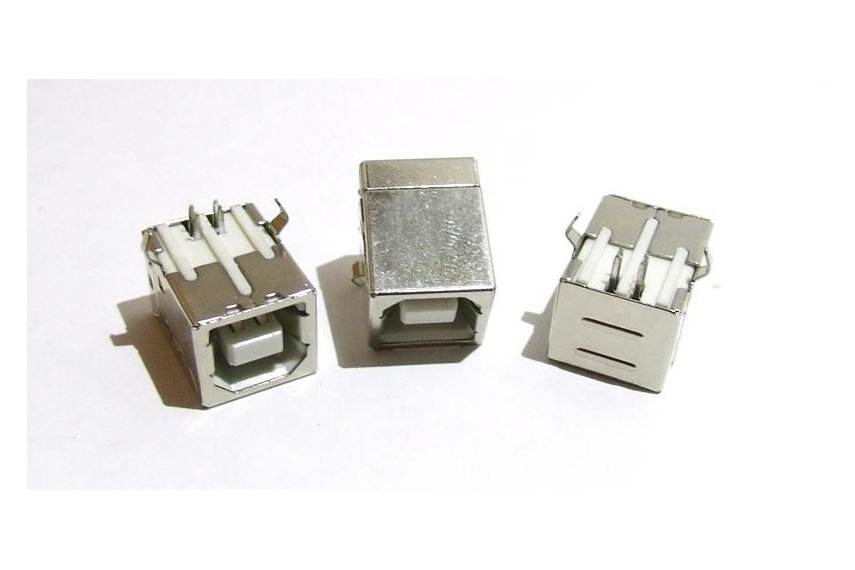 USB Type B  (3pcs)