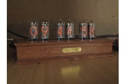 In-8-2 Steampunk Nixie Tube Clock+Power Supply Set