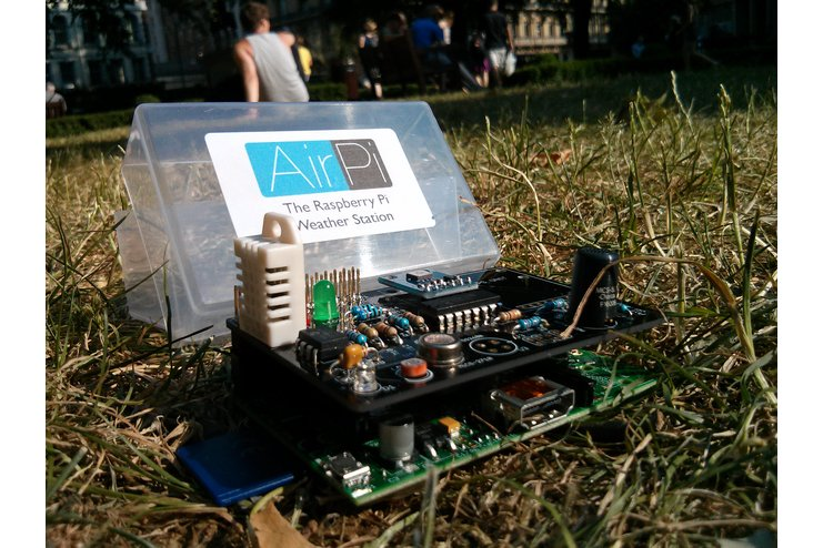 AirPi Kit - Raspberry Pi weather station shield