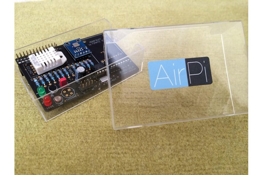 AirPi Kit v1.4 - Raspberry Pi weather shield