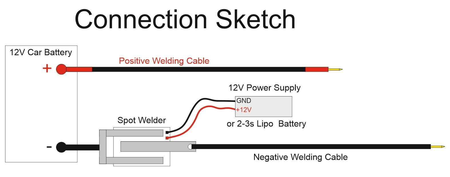 diy arduino battery spot welder v2 prebuilt kit from kaeptnbalu on tindie