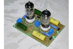 DIY Universal PCB for tube preamp CCDA stage ECC88
