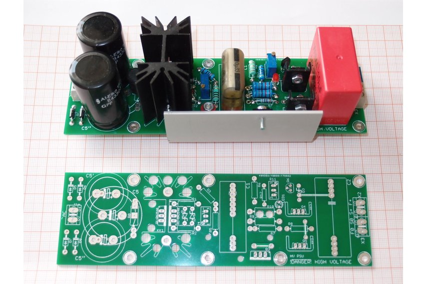 PCB Tube Anode Adjustable PSU Regulator Salas V2