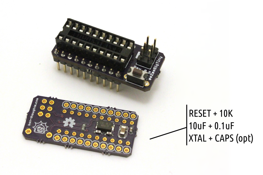 ATtiny4313 development board
