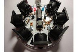 MidiSplit - 1 Input, 6 Output  MIDI Splitter