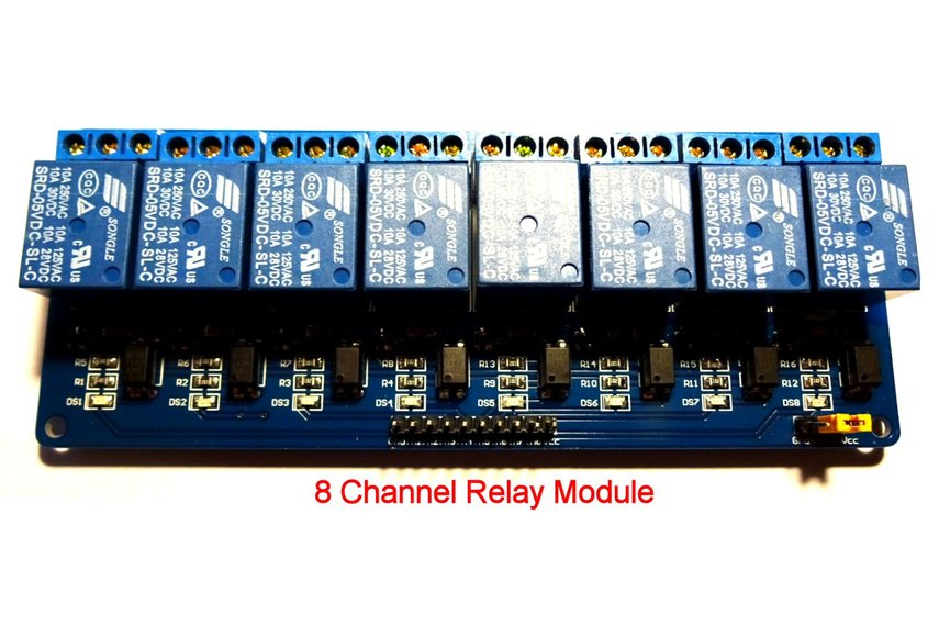 Relay Switcher : 8 Channel MIDI-to-relay module