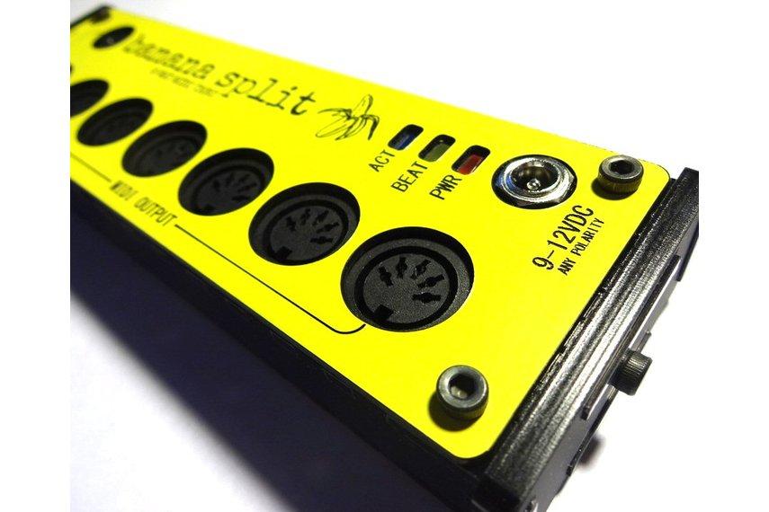 Banana Split - 6 Way Midi Splitter/Thru Box
