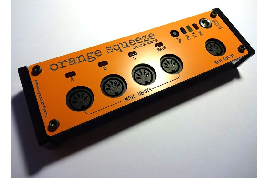 Orange Squeeze MIDI Merge