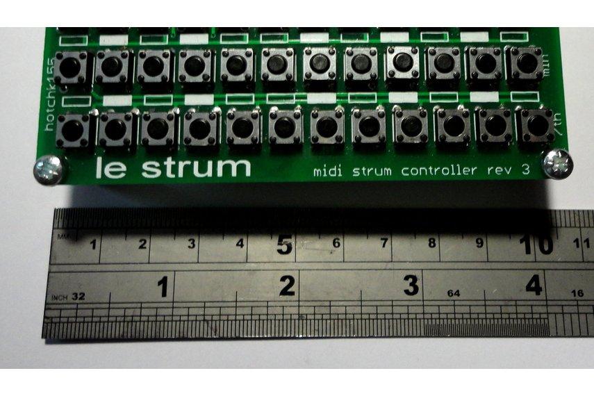 LE STRUM  - MIDI Strummed Chord Controller Kit