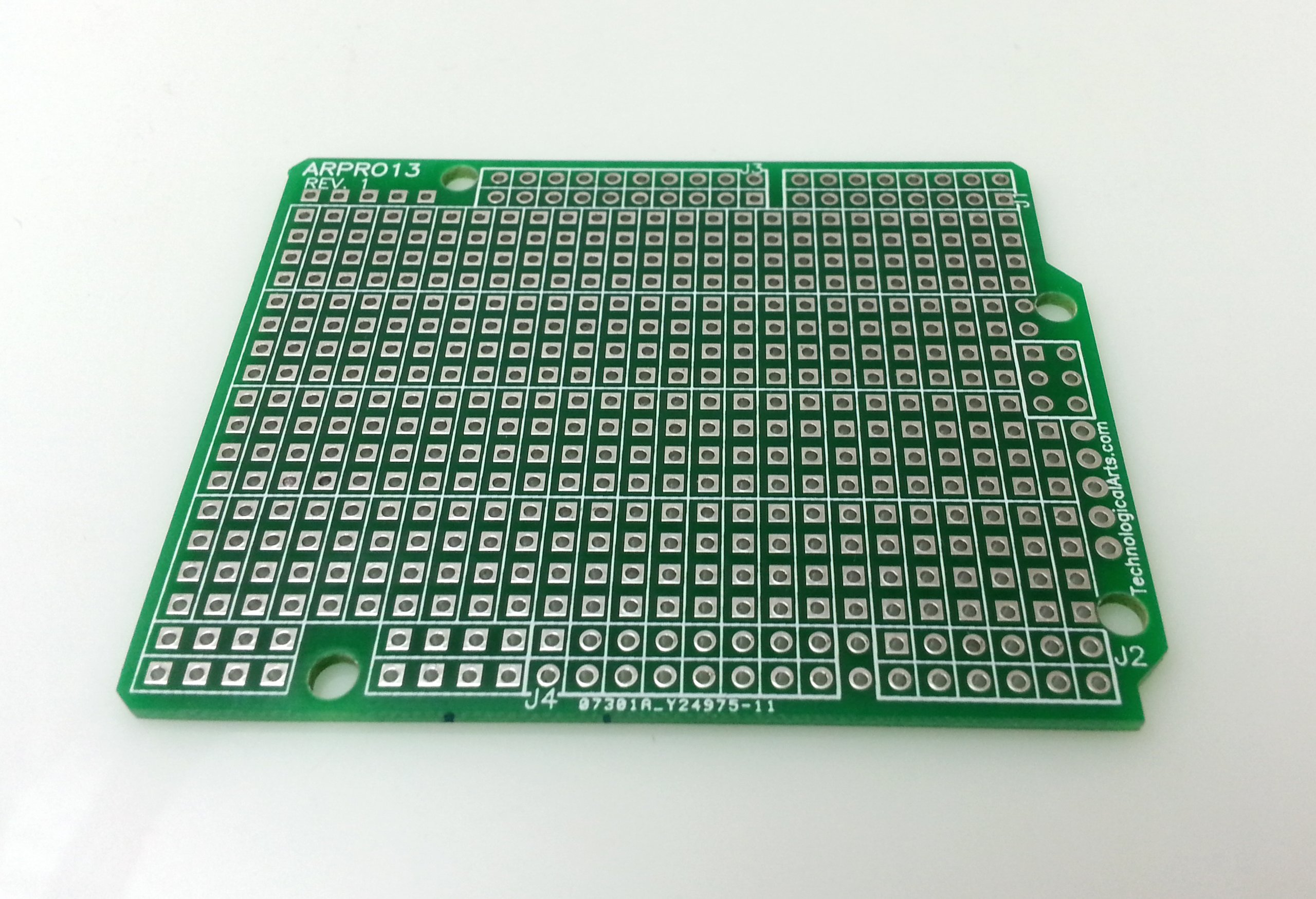 Arduino uno prototyping shield from techartsman on tindie