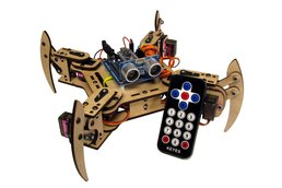 mePed v2 Quadruped Walking Robot - Complete Kit