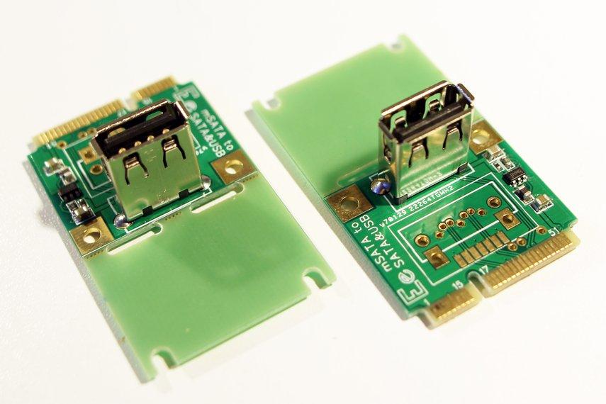 miniPCIe (mPCIe) to USB breakout board