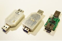 Instrument grade USB/battery power sensor