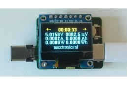 USB type-C power meter (5-digit precision)