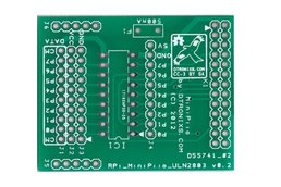 Raspberry PIIO - MiniPiio ULN2803 add-on board - PCB only