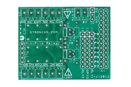 Raspberry PIIO - 2ch Relay board (PCB only)