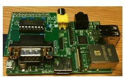 Raspberry PIIO - MiniPiio RS232 add-on board