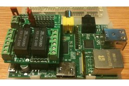 Raspberry PIIO - MiniPiio 2ch Relay add-on board