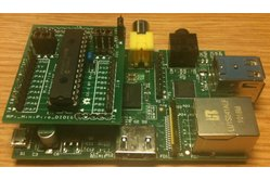 Raspberry PIIO - MiniPiio DIO16 - 16ch I2C Port Expander add-on board