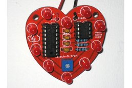 Heart-Shaped LED Chaser (Kit)