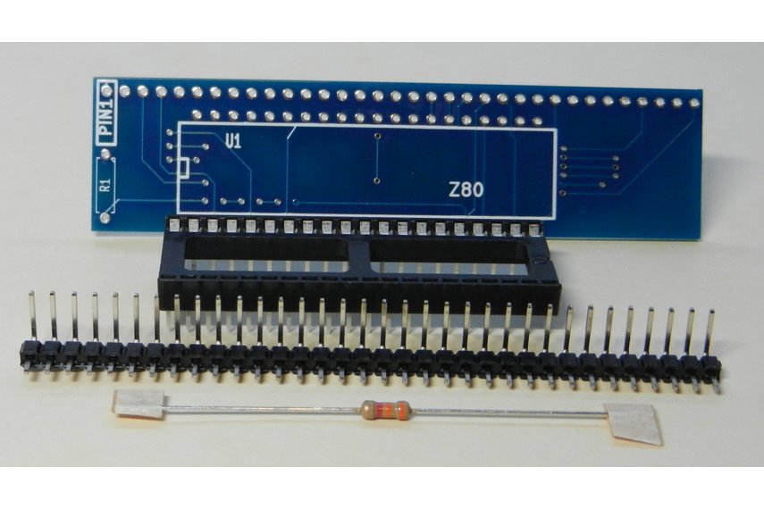 Z80 CPU Module For RC2014 Homebrew Computer