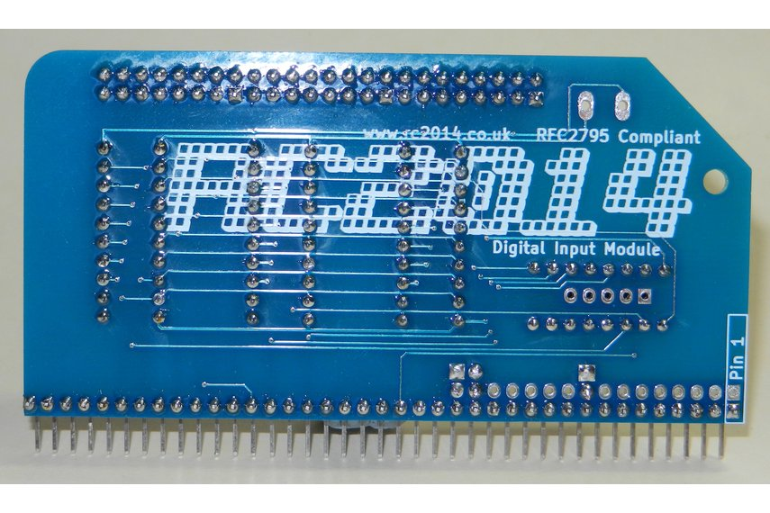 Digital Input Module For RC2014 Z80 Computer